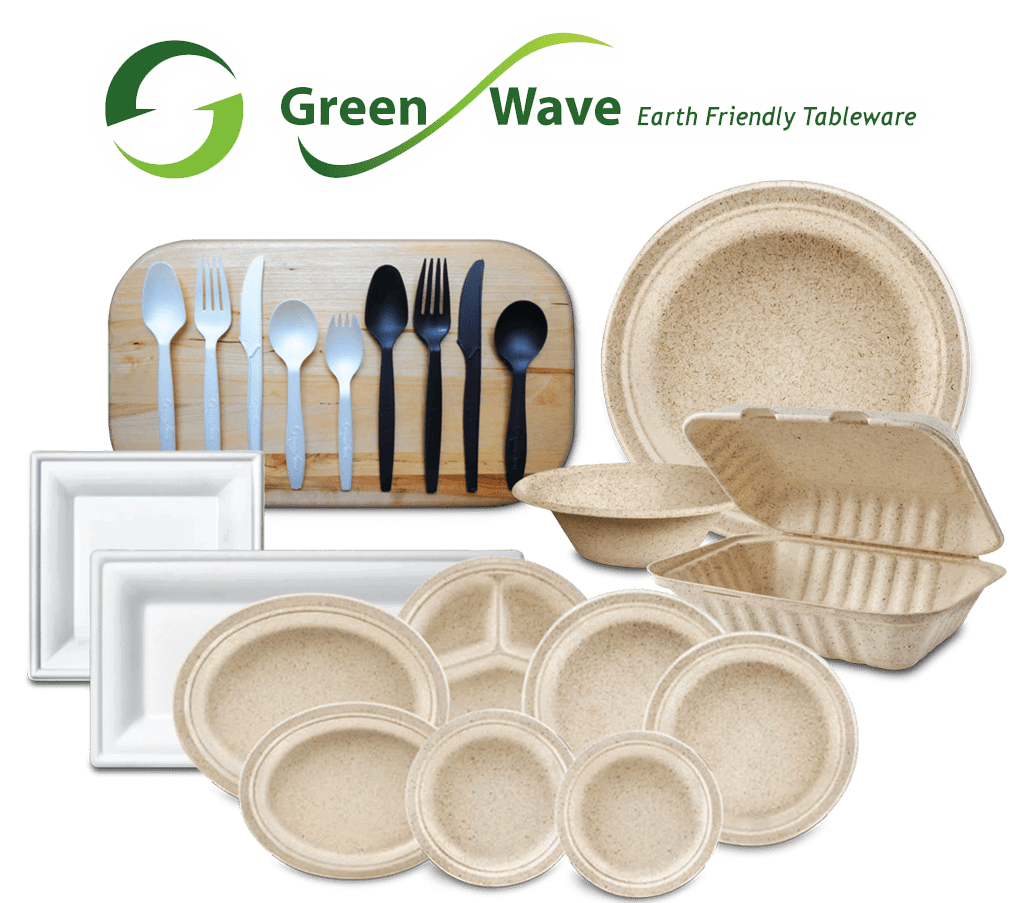 Green Wave Earth Friendly Tableware